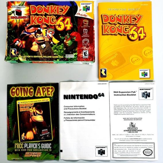 Caixa Vazia Donkey Kong 64 Nintendo 64 N64 Original