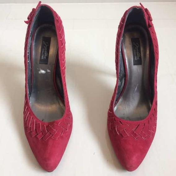Sapato Feminino Salto Alto Jorge Alex Número 38 Usado