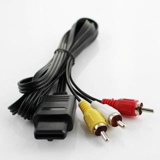 Cable Av Nintendo 64 - Gamecube - Super Ness - Haisgame