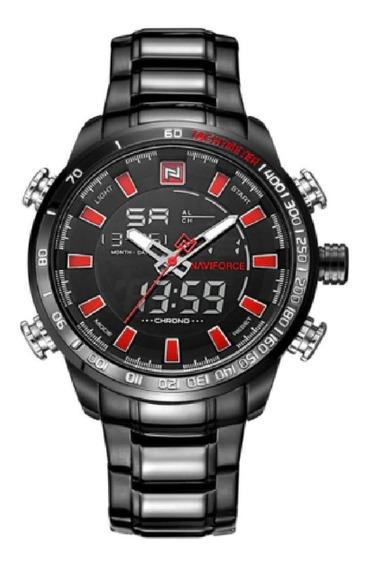 Relógio Naviforce 9093 - Original - Aço Inoxidável -na Caixa