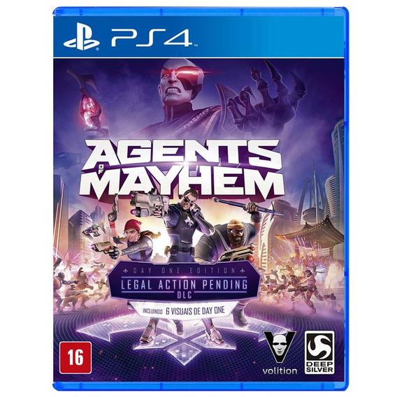 Jogo Agents Of Mahem Ps4