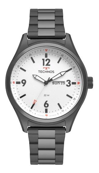 Relógio Technos Masculino Militar 2105ax/4b Preto Aço