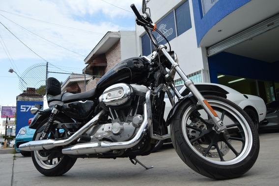 Harley Davidson 2015 883 Super Low Negro