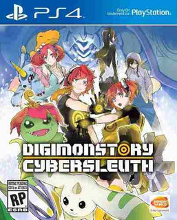 Juego Ps4 Digimon Story: Cyber Sleuth