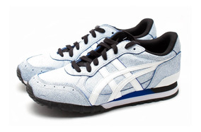 Tenis Onitsuka Tiger Unisex Azul Blanco Casuales D612l 0101