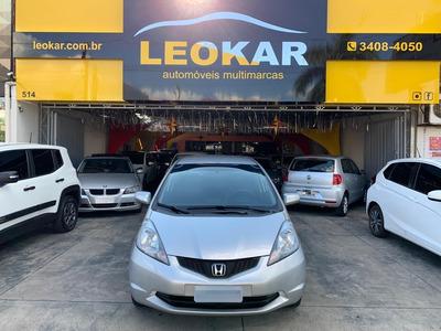 Honda Fit 1.4 Lxl Flex, Bancos Em Couro