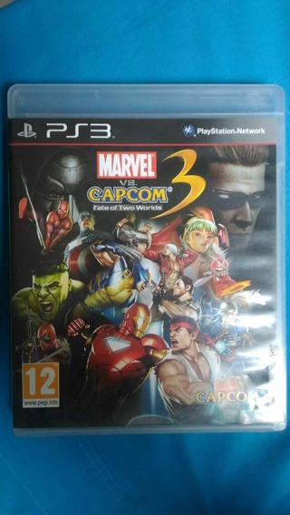 Marvel Vs Capcom 3 Jogo Ps3 Game Playstation 3 Mídia Física