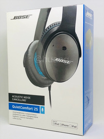 Bose Quiet Comfort 25 Preto Cinza - Apple - Noise Cancelling