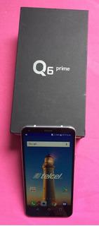 Lg Q6 Prime, Lg-m700h, Gray, Estetica 9, En Caja, Libre