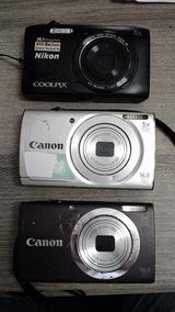Lote Com 3 Câmeras (retirar Peças)