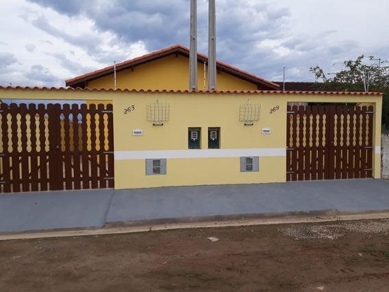 Casa Nova Lado Praia Em Itanhaém R$165 Mil
