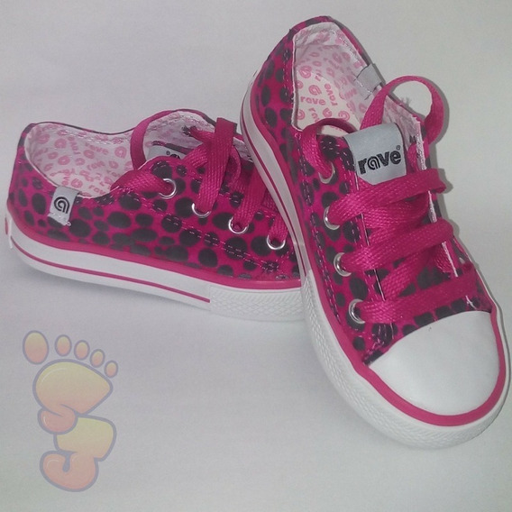 Zapatillas Animal Print Para Niñas Art 997 Rave