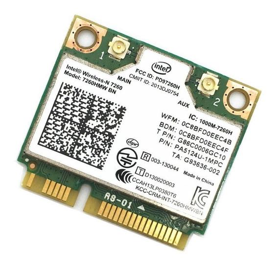 Mini Pci Placa Wireless + Bluetooth 4.0 Intel 7260hmw 2.4ghz