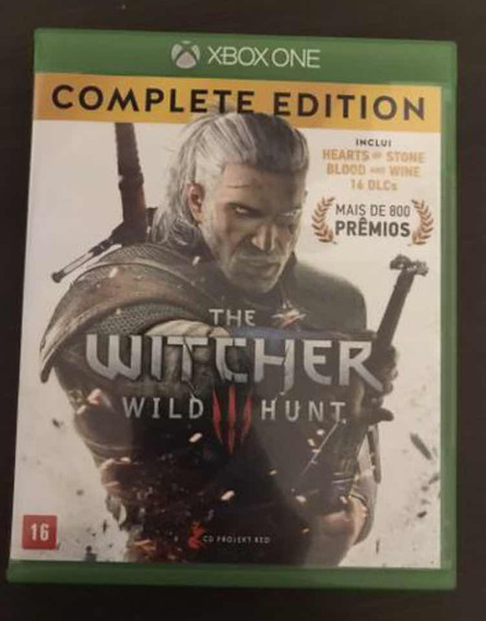 Jogo The Witcher 3 Xbox One