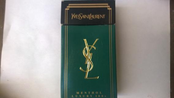 Caja De Cigarrillo Yves Saint Laurent Norteamericana