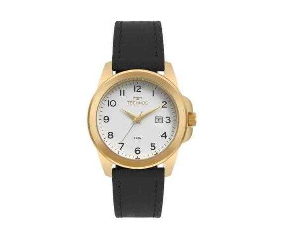 Relógio Technos Masculino Pulseira De Couro 2115mqj/2b