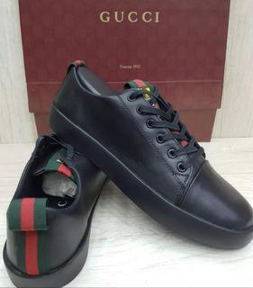 Sapatenis Tenis Gucci Tiger Couro Masculino Todos Modelos