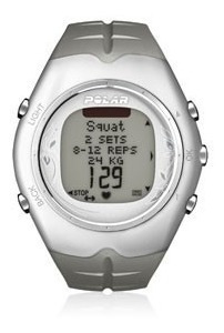 Monitor Cardíaco Polar F55 - Branco (novo)