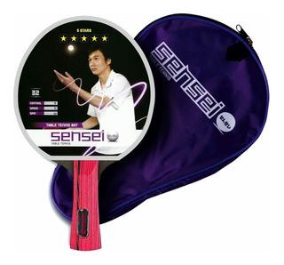 Paleta De Ping Pong Sensei 5 Estrellas