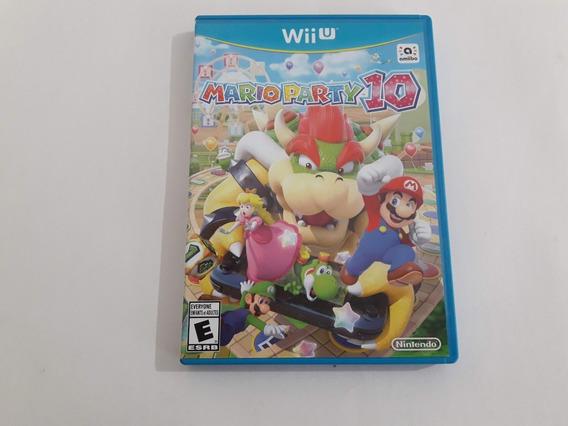Wii U Mario Party 10 Funcionando 100% #970