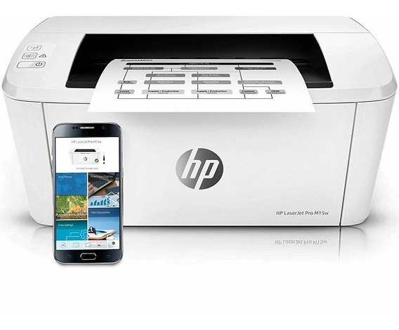 Impresora Hp Laser Pro M15w Monocromática Wifi Toner 120vrds