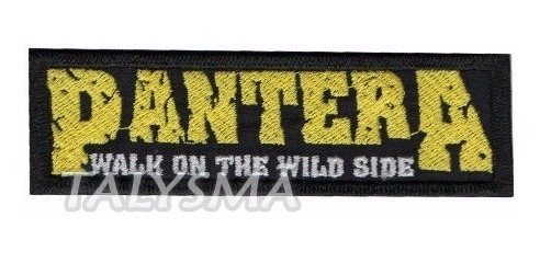 Bordado Patch Termocolante Pantera Dv80317