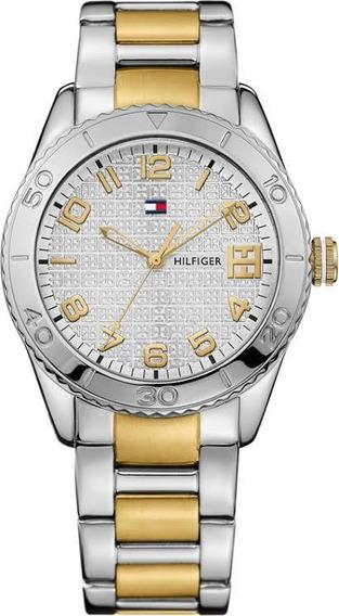 Relógio Tommy Hilfiger Th1781146 Orig Anal Silver Gold!
