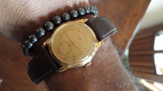 Relógio Longines, Década De 60, Ouro Na Caixa, Todo Original