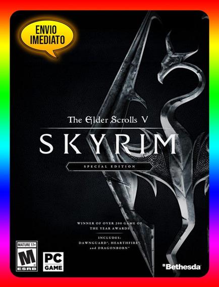 The Elder Scrolls V Special Edition Pc - Steam Key (envio Já)