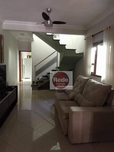 Ótimo Sobrado Com 3 Dormitórios À Venda, 125 M² Por R$ 390.000 - Vista Linda - São José Dos Campos/sp - Ca4518