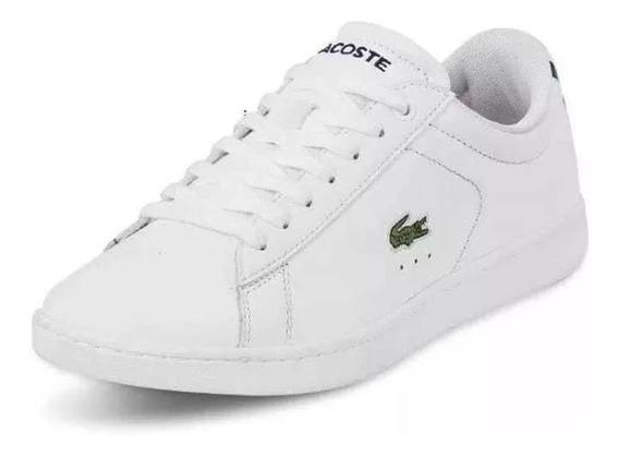 Tenis P/dama Lacoste Original Cklass 623-35 Oi-19 Blanco Spb