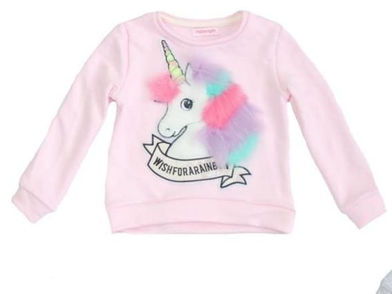 Buzos Unicornio Nena, Con Pelos, Varios Colores, Exclusivo.