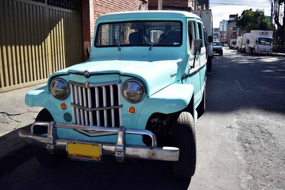 Willys Station Wagon Modelo 63