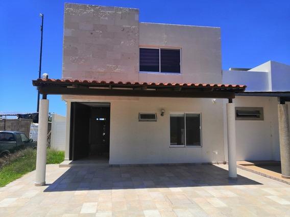 Casa Las Plazas Residencial Ags 3 Recamaras Acondicionada