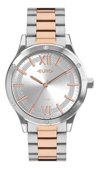 Relógio Euro Boyfriend Feminino Bicolor Eu2036ype/5k