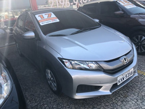 Honda City Dx Cvt 2017 Prata Flex