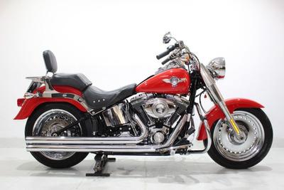 Harley-davidson Fat Boy Flstf 2011 Vermelha