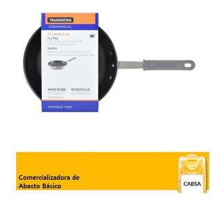 Sarten De Aluminio Pesado Antiadherente 30.4cm. Tramontina