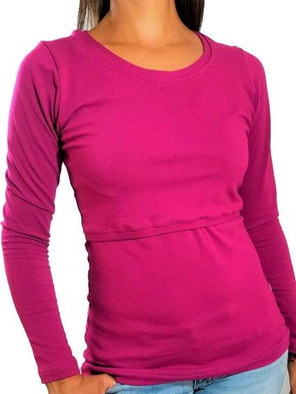 Blusa De Lactancia Y Embarazo Ropa Maternidad- Khali Bugam
