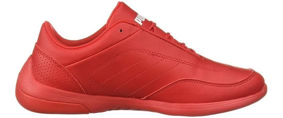 Tenis Puma Niño Rojo Sf Kart Cat Iii Jr 30642504