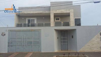 Sobrado Com 3 Dormitórios À Venda, 415 M² Por R$ 950.000 - Antônio Fernandes - Anápolis/go - So0059
