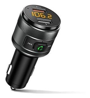 Transmisor Bluetooth Bluetooth Para Automóvil, Qc3.0 Adaptad