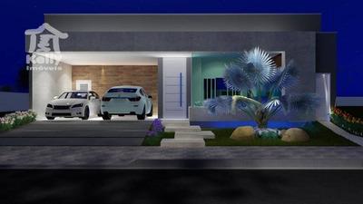 Casa Com 3 Dormitórios À Venda, 137 M² Por R$ 580.000 - Condomínio Valência 1 - Álvares Machado/sp - Ca0645