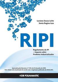 Ripi - Regulamento Do Imposto Sobre Produtos