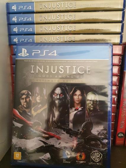 Jogo Injustice Gods Among Us Ps4 Mídia Física Lacrado