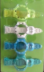 Kit 4 Pulseiras Avulsas Champion Troca Pulseiras Pequeno
