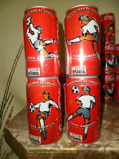 Latas De Coca Cola Copa America 95