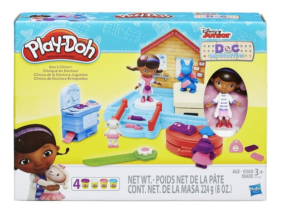 Play Doh Doctora Juguetes Disney Junior Plastilinas. Hasbro