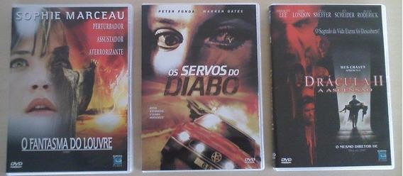 3 Filmes De Terror (em Dvd) - Ref 02