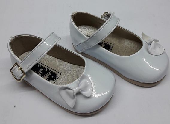 Zapatos Blancos Bebas Bautismo, Cortejo Fiesta Cari Bambini